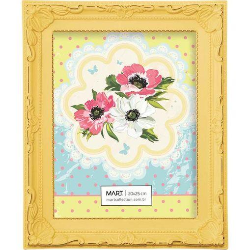 Porta Retrato Celini 5009 13x18 Amarelo Mart