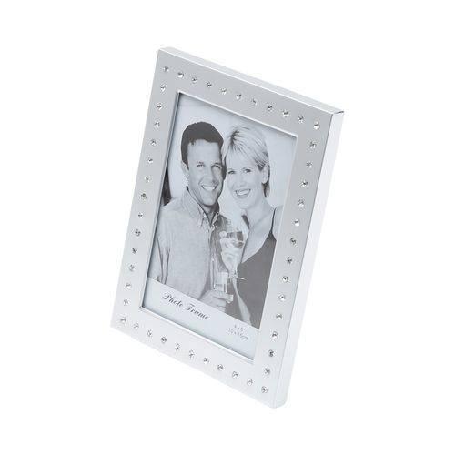 Porta Retrato com Strass 10x15cm