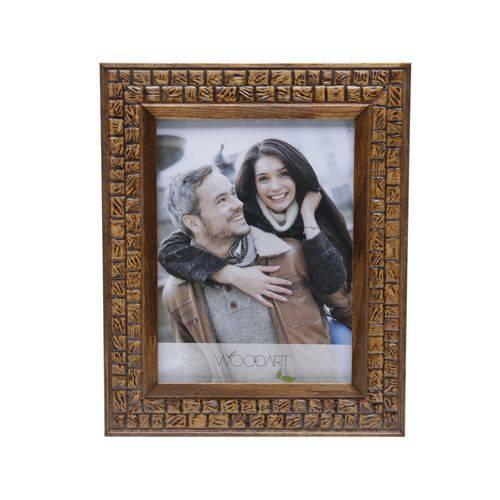 Porta Retrato Coquinho 15x20 Cm de Madeira Woodart