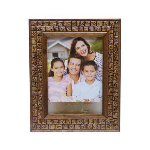 Porta Retrato Coquinho 13x18 Cm de Madeira Woodart