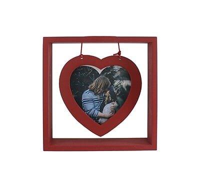 Porta Retrato Coração - Compre na Imagina só Presentes