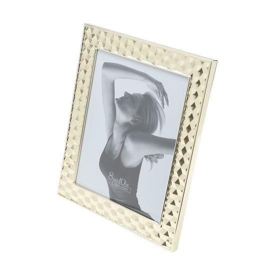 Porta-Retrato de Aco Dourado 10X15cm