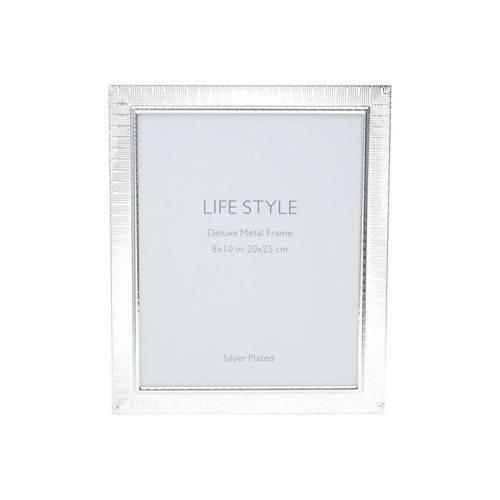 Porta Retrato de Aço Life 10cmx15cm Rojemac Prata