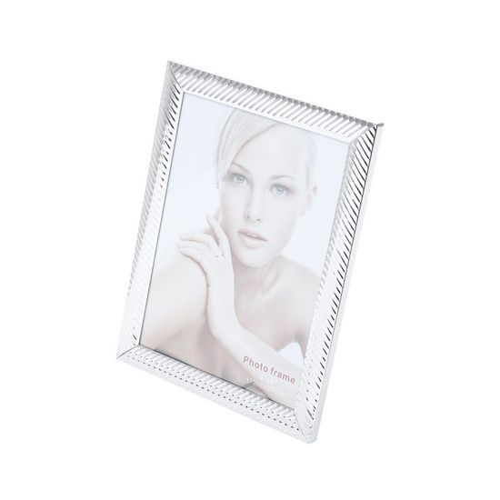 Porta-Retrato de Aço Lines 10X15cm