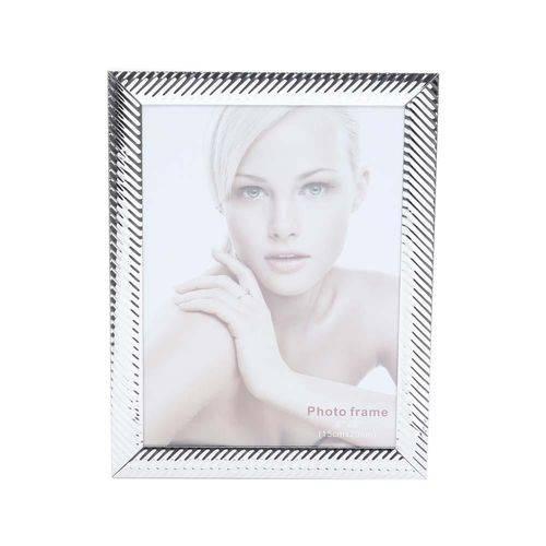 Porta Retrato de Aço Lines 10X15Cm - F9-25510