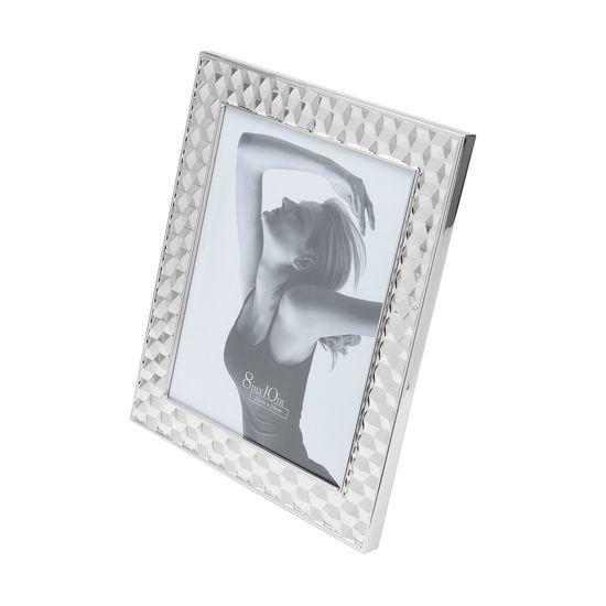 Porta-Retrato de Aco Prateado 10X15cm
