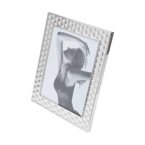 Porta-retrato de Aco Prateado 13x18cm