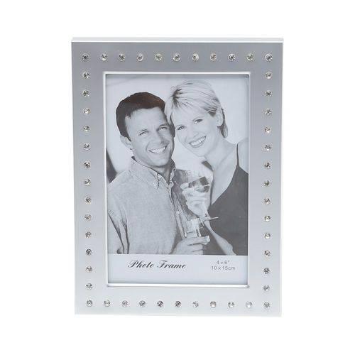 Porta Retrato de Alumínio Escovado 10x15cm