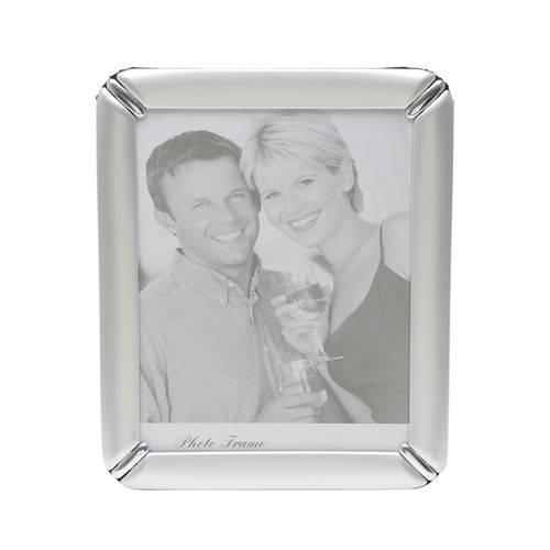 Porta Retrato de Alumínio Escovado para Foto 13x18Cm Prestige
