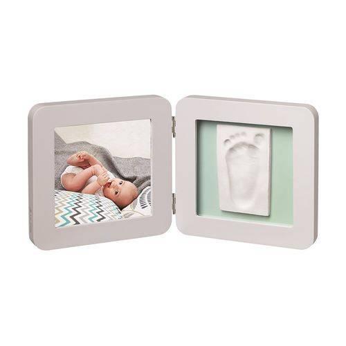 Porta-Retrato de Madeira com Molde Simples Baby Art Pastel