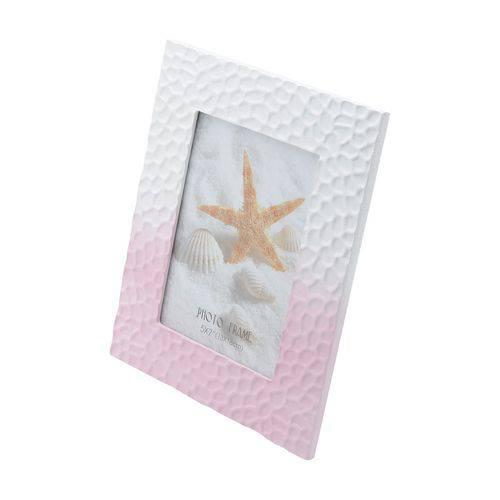 Porta-Retrato de Madeira Pink Waves 10X15cm