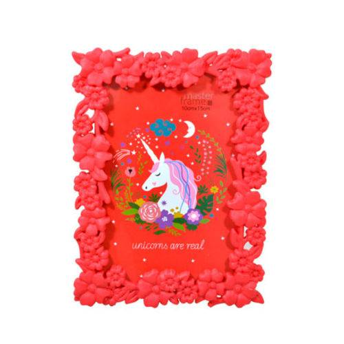 Porta Retrato de Plastico Colors 10x15 Cm