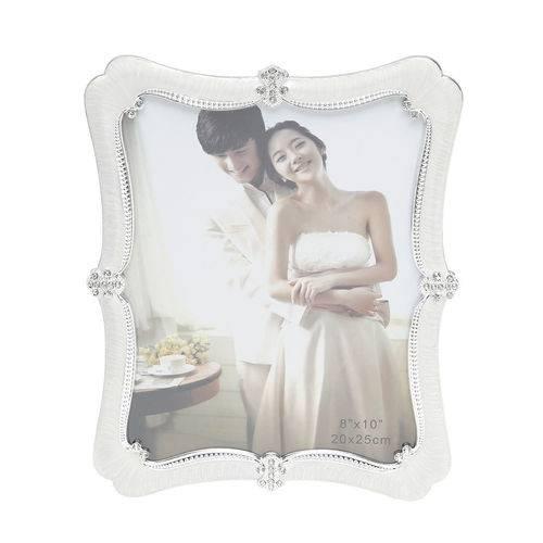 Porta Retrato de Plástico Perolado 20x25cm 30112 - Prestige