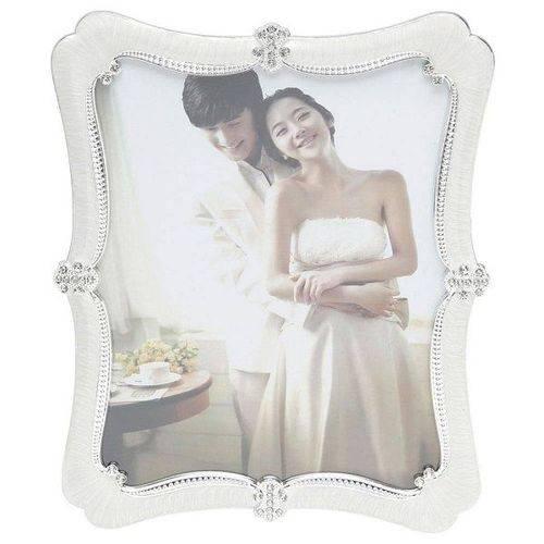 Porta Retrato de Plastico Perolado 10X15CM Prestige 30109