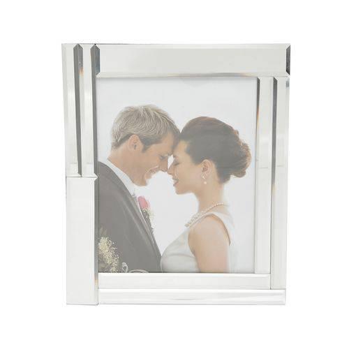 Porta Retrato de Vidro Espelhado para Foto 13x18cm Prestige
