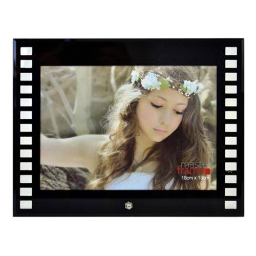 Porta Retrato de Vidro Filme 18x13 Cm