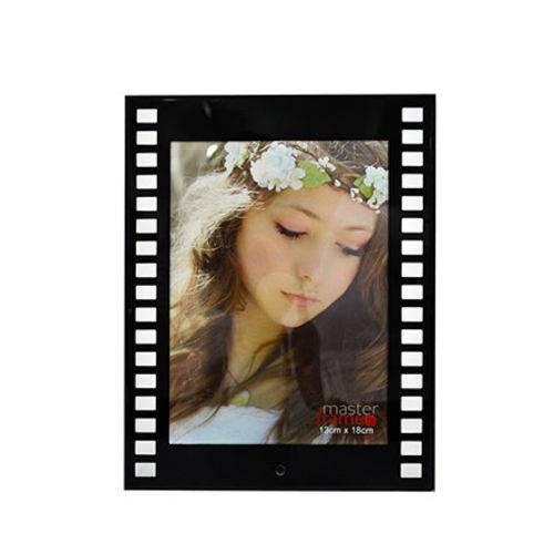 Porta Retrato de Vidro Filme 13x18 Cm