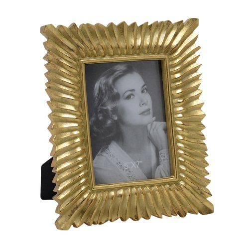Porta Retrato Dourado 13 X 18 Cm