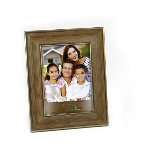 Porta Retrato Dourado para 1 Foto 20x25 Valeta Woodart
