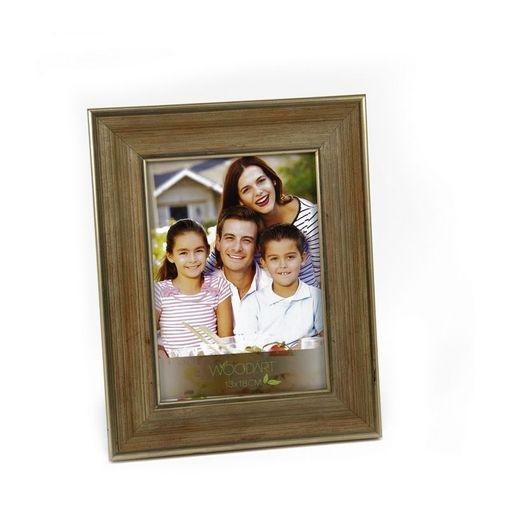 Porta Retrato Dourado para 1 Foto 10x15 Valeta Woodart