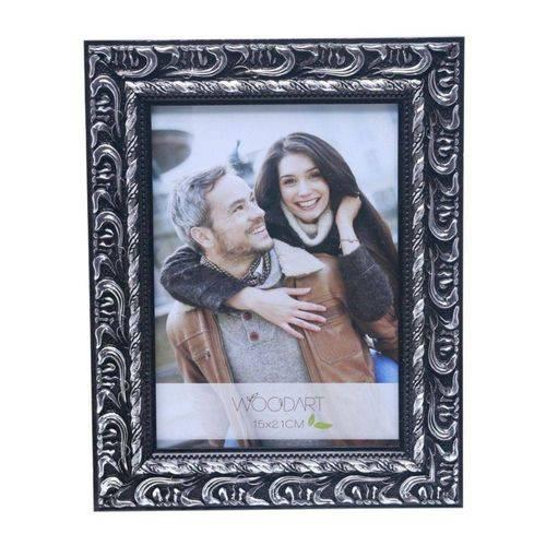 Porta Retrato Elegance 10cmx15cmcm Rojemac Preto/Cinza