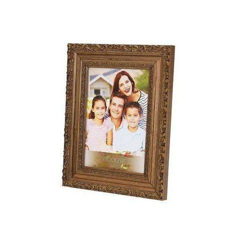 Porta Retrato Elegance 13X18CM em Madeira Natural Woodart 11825
