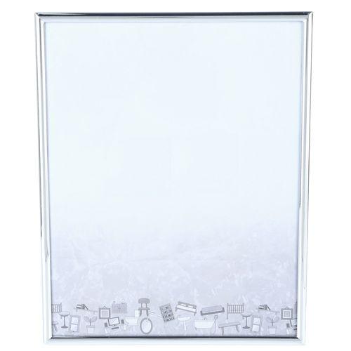 Porta Retrato em Inox Dallas 20x25cm