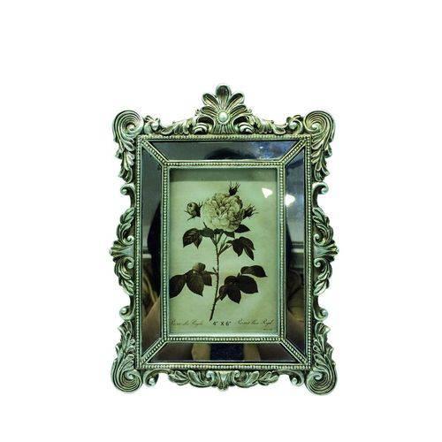 Porta-retrato Espelhado 10x15 Prata Escuro