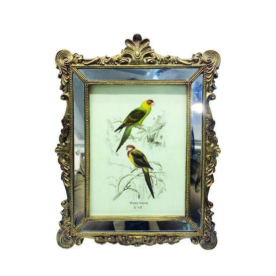 Porta-Retrato Espelhado 15X20 Dourado