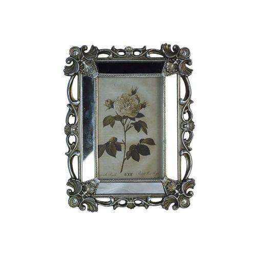 Porta-retrato Espelhado 15x20 Prata Antigo