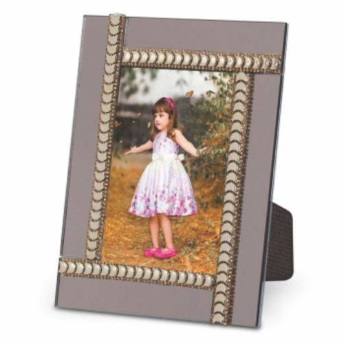 Porta Retrato Espelho Bronze 10x15