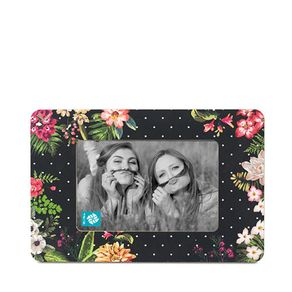 Porta Retrato Floral Colorido
