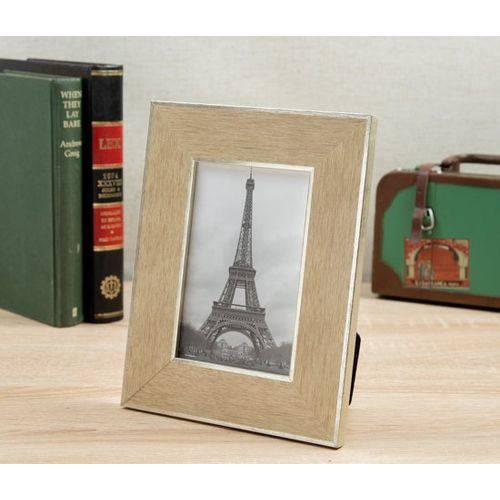 Porta Retrato Fotos 10x15 Lawrence 23x18cm Prata