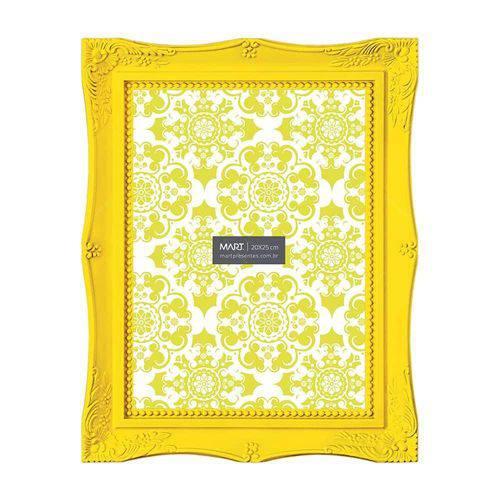 Porta-Retrato Frame - Foto 20x25 Cm - Amarelo - 29,5x24,5 Cm