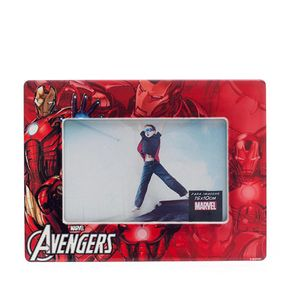 Porta Retrato Homem de Ferro Quadrinhos HQ Marvel