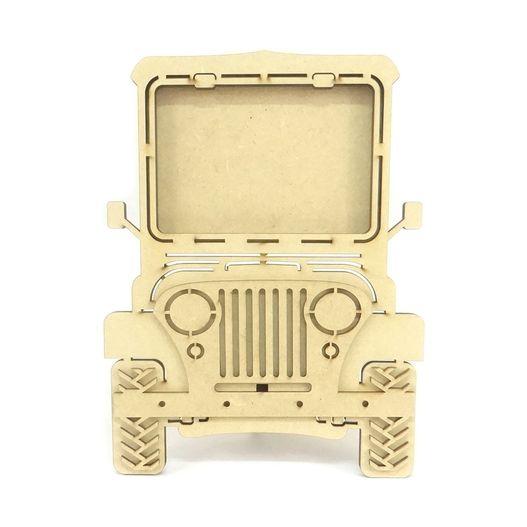 Porta Retrato Jeep em MDF