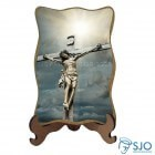 Porta-Retrato Jesus Crucificado - Modelo 3 | SJO Artigos Religiosos