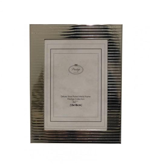 Porta Retrato Listras Metal 13x18 Cm - Occa Moderna