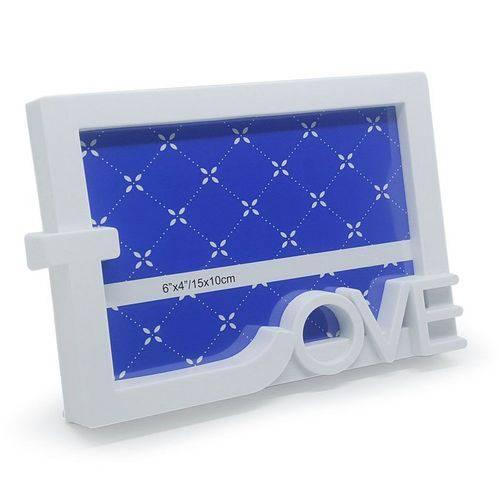 Porta Retrato Love - Branco