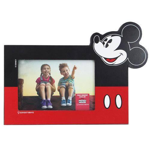 Porta Retrato Madeira Formato Mickey