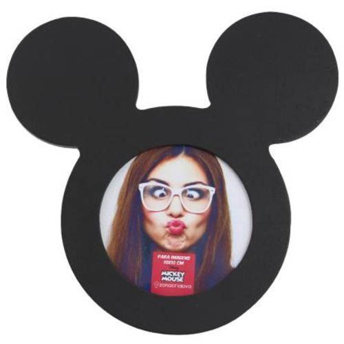 Porta Retrato Madeira Mickey