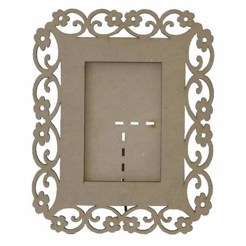 Porta Retrato Margaridas 10x15 - Mdf Laser