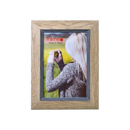 Porta Retrato Marrom 10x15 Cm
