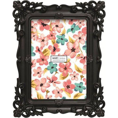 Porta Retrato Mart Waldorf 4994 13x18 Preto