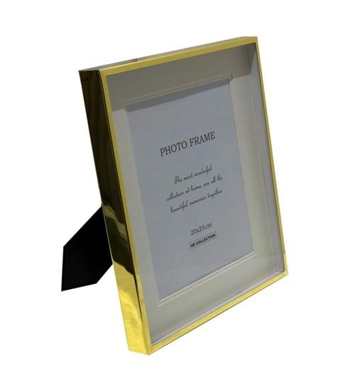 Porta-Retrato Metal Dourado 20x25 - Occa Moderna