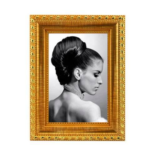Porta Retrato Moldura Dourada 10x15 Foto Fotografia Moldura