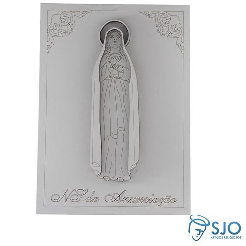 Porta Retrato Nossa Senhora da Anunciação   SJO Artigos Religiosos