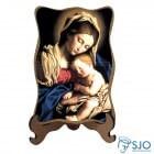 Porta-Retrato Nossa Senhora da Divina Providência - Modelo 1 | SJO Artigos Religiosos