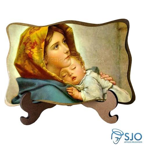 Porta-Retrato Nossa Senhora da Divina Providência - Modelo 2 | SJO Artigos Religiosos
