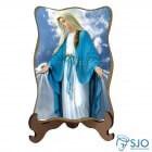 Porta-Retrato Nossa Senhora das Graças - Modelo 3 | SJO Artigos Religiosos